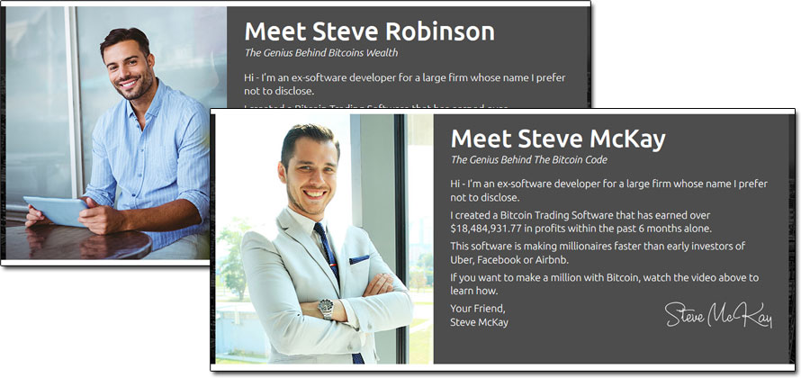 Steve Robinson Bitcoins Wealth System