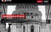 London Option Exchange Website Screenshot