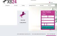 XB24 Broker Website Screenshot